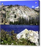 Baker Lake, Idaho Acrylic Print
