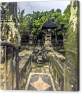 Bali Temple Acrylic Print