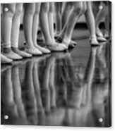 Ballet Class Acrylic Print
