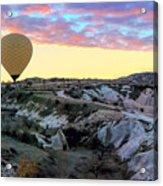 Ballooning At Sunrise No 2 Acrylic Print