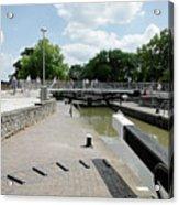 Bancroft Basin - Canal Lock Acrylic Print