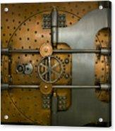 Bank Vault Door Exterior Acrylic Print