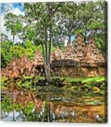 Banteay Srei Temple - Cambodia Acrylic Print