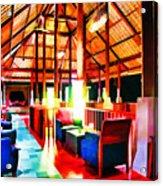 Bar Bedulu Acrylic Print by Lanjee Chee