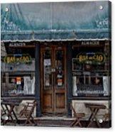 Bar De Cao Acrylic Print