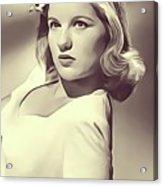 Barbara Bel Geddes, Vintage Actress Acrylic Print