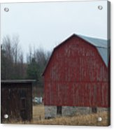Barn And Shed Acrylic Print