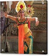 Barong Dancer Acrylic Print