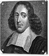 Baruch Spinoza (1632-1677) Acrylic Print by Granger