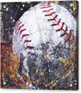 Baseball Art Version 6 Acrylic Print