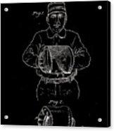 Baseball Glove Patent 1905 Acrylic Print