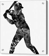 Baseball Player Acrylic Print