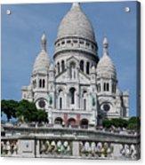 Basilica Du Sacre-coeur De Montmartre Acrylic Print