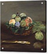 Basket Of Fruit Acrylic Print