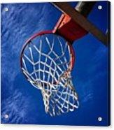 Basketball Hoop #juansilvaphotos Acrylic Print