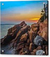 Bass Harbor Lighthouse Maine Acrylic Print