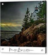 Bass Harbor Light Acrylic Print