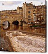 Bath England United Kingdom Uk Acrylic Print