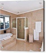 Bathroom And Spa Bath Acrylic Print