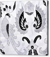 Batik  Acrylic Print