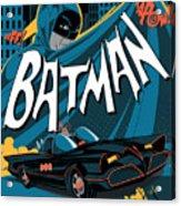 Batman Art Acrylic Print