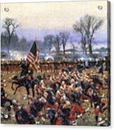 Battle Of Fredericksburg - To License For Professional Use Visit Granger.com Acrylic Print