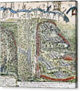Battle Of Lake George, 1755 Acrylic Print