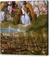 Battle Of Lepanto Acrylic Print