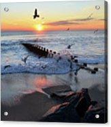 Bay Head Sunrise Acrylic Print