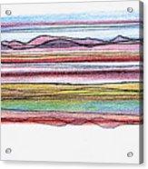 Bay Lines Acrylic Print