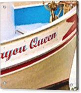 Bayou Queen Acrylic Print