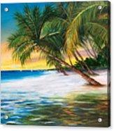 Beach Waves Acrylic Print