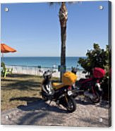 Beachland Boulevard At Vero Beach In Florida Acrylic Print