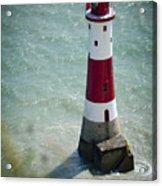 Beachy Head Lighthouse. Acrylic Print