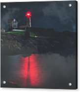 Beacon In The Evening Acrylic Print