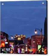 Beale Street, Memphis Acrylic Print