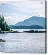 Beautiful Landscape In Alaska Mountains  Acrylic Print