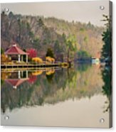 Beautiful Landscape Near Lake Lure North Carolina Acrylic Print