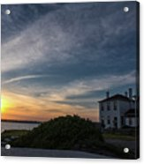 Beavertail Lighthouse Acrylic Print