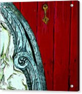 Behind Closed Doors Acrylic Print
