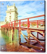 Belem Tower Lisbon Acrylic Print