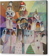 Bellringing. Ivan The Great Bell-tower. Acrylic Print