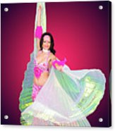Belly Dancer  Acrylic Print