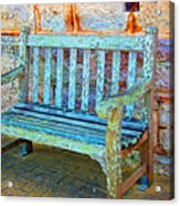 Benched Acrylic Print