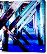 Beneath The Docks Acrylic Print