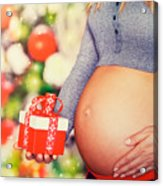 Best Present For Christmas Acrylic Print