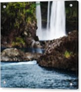 Big Island Waterfall Acrylic Print
