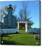 Big Sodus Lighthouse Acrylic Print
