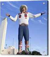 Big Tex In Dallas Texas Acrylic Print