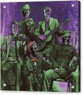 Bird Cage Theater Musicians Number 2 Tombstone Arizona Circa 1890-2009 Acrylic Print